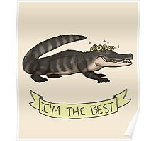 Best Gator Poster