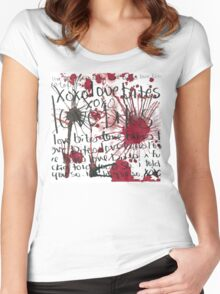 LOVE BITES  Women's Fitted Scoop T-Shirt