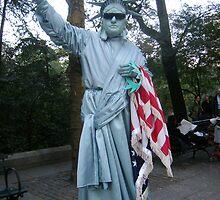Lady? Liberty by Bernadette Claffey