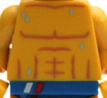 LEGO Swimmer Sticker