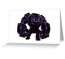 Giant Clash of Clans Art Greeting Card