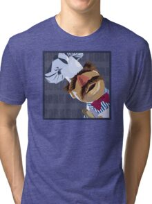 "Swedish Chef ""Bork Bork"" Tri-blend T-Shirt"