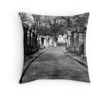 Pere Lachaise Throw Pillow