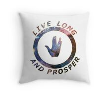 ~ live long and prosper ~ Throw Pillow