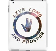 ~ live long and prosper ~ iPad Case/Skin