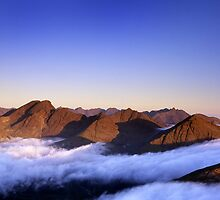 The Cuillin, morning by Chris MacRae