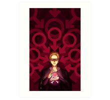 Persona 4 - Kanji Tatsumi poster Art Print
