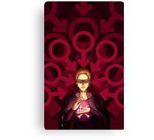 Persona 4 - Kanji Tatsumi poster Canvas Print