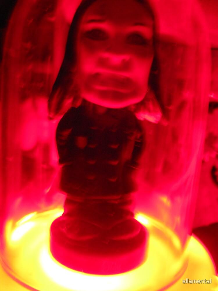 Ozzy Under Glass by ellamental