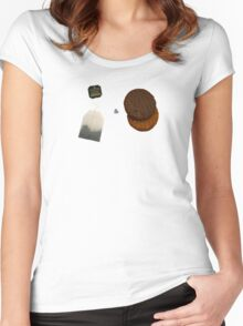 Tea & Biscuits Women's Fitted Scoop T-Shirt