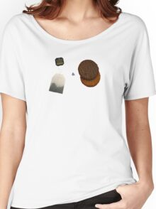 Tea & Biscuits Women's Relaxed Fit T-Shirt