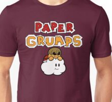 Paper Grumps Ross with Title Unisex T-Shirt