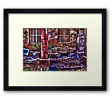 Ruined House Fine Art Print Framed Print