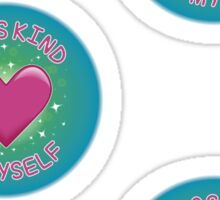 Spoonie Stickers - I was kind to myself (medium) Sticker