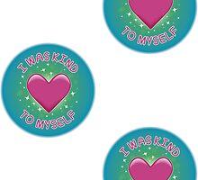 Spoonie Stickers - I was kind to myself (medium) by Parkertron