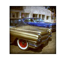 Cadillac Flashback Photographic Print