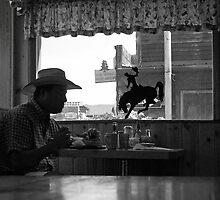 Cowboy Coffee~Small Town America III by Rachel Sonnenschein
