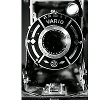 Vario Antique Camera Still-Life Photographic Print