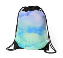 Pastel Sky Drawstring Bag