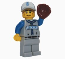 LEGO Baseball Fielder One Piece - Long Sleeve
