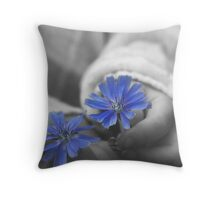 say it with flowers -- card Throw Pillow