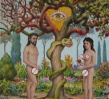 Adam & Eva in the USA by HDPotwin