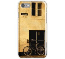Copenhagen Bicycle Cell Case iPhone Case/Skin