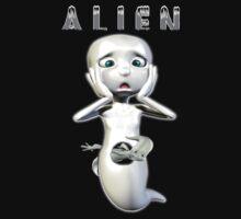 Ghost Alien Kids Clothes