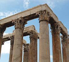 Temple of Olympus Zeus by JenniKate Wallace