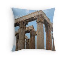 Temple of Olympus Zeus Throw Pillow