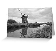 Brograve Windmill Greeting Card