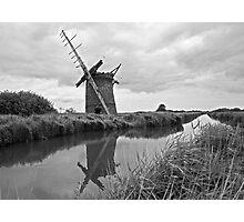 Brograve Windmill Photographic Print