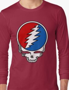 Grateful Dead Logo Long Sleeve T-Shirt