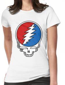 Grateful Dead Logo Womens Fitted T-Shirt