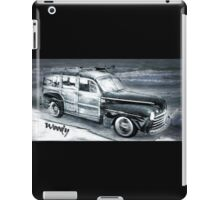 The Surfer's Woody iPad Case/Skin