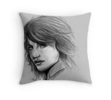 Tricia Helfer, Caprica 6, Battlestar Galatica '04 Throw Pillow
