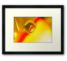 Agate Sunrise Framed Print