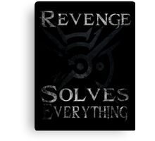 Dishonored - Revenge Solves Everything Canvas Print