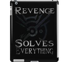 Dishonored - Revenge Solves Everything iPad Case/Skin