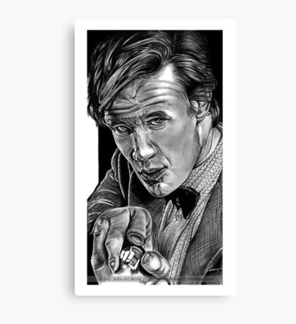 Matt Smith, DOCTOR WHO XI Canvas Print