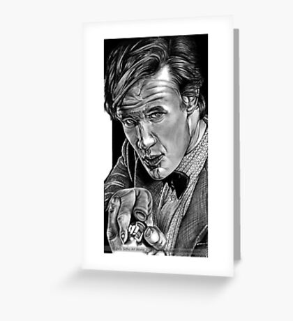 Matt Smith, DOCTOR WHO XI Greeting Card