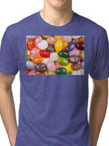 Cool colorful sweet Jelly Beans Tri-blend T-Shirt