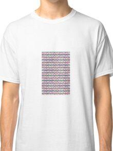 basket case summer folk pattern Classic T-Shirt