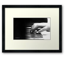 Someone to Watch Over Me. Framed Print