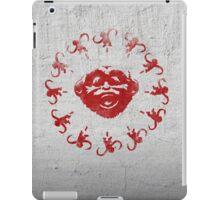 Barrel of 12 Monkeys (Red Paint) iPad Case/Skin