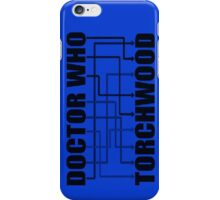 Doctor Who And Torchwood iPhone Case/Skin
