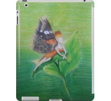 Red Admiral Fairy iPad Case/Skin
