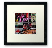 M20 MASHUP #5 Framed Print