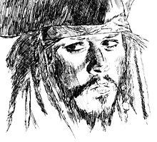 Jack Sparrow art by blackcross