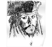 Jack Sparrow art Poster